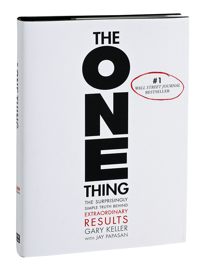 The ONE Thing book cover by Gary Keller