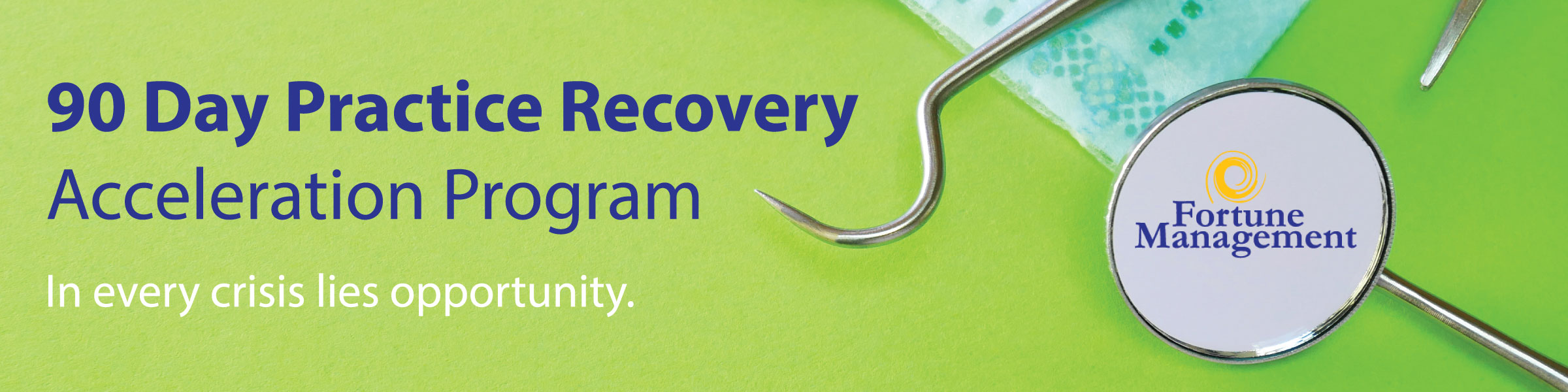 90 day recovery program banner graphic